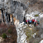 Над водопад Добравишка скакля
