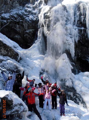 Боянския водопад, март 2013